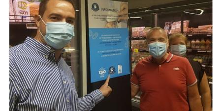 pose film antibactérien antimicrobien