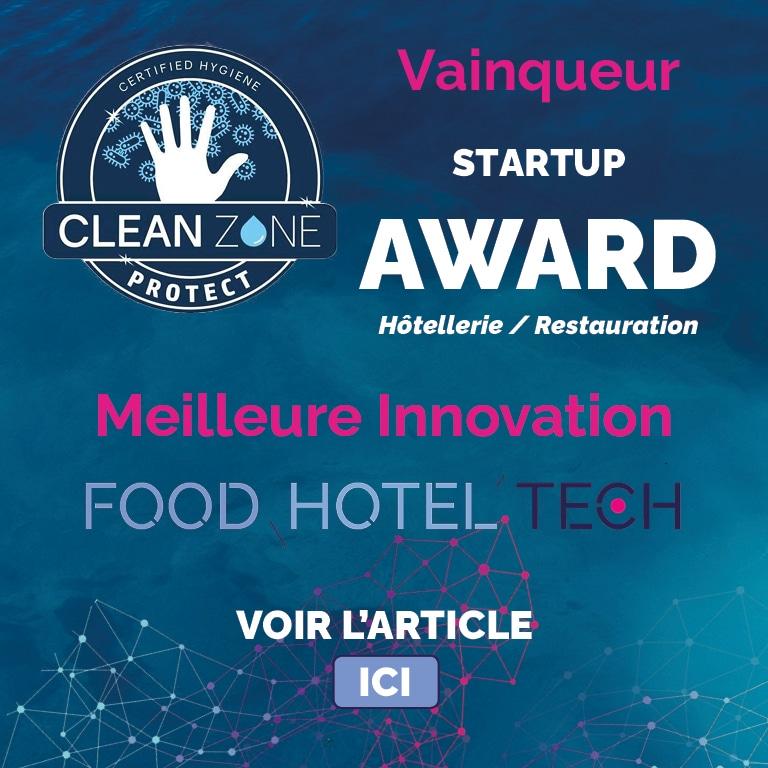 Gagnant Food Hotel Tech Award Meilleure Innovation
