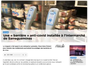 radio mélodie intermarché clean zone protect