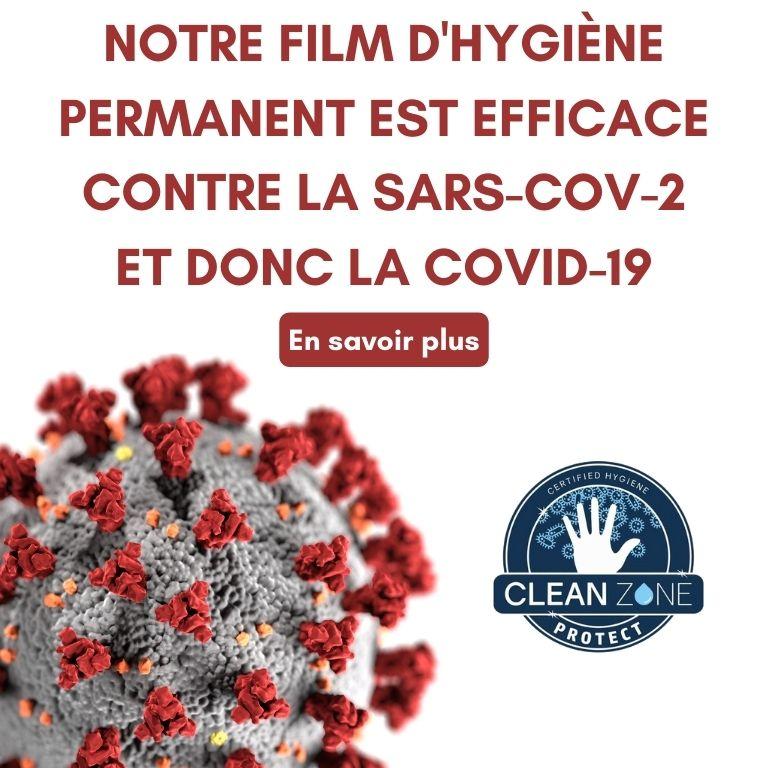 Film hygiène permanent contre COVID-19